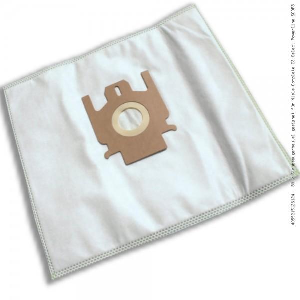 Staubsaugerbeutel geeignet für Miele Complete C3 Select Powerline SGDF3 Bild: 1