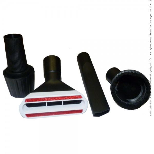 Universal Düsenset geeignet für Tarrington House Nass-Trockensauger WVC2000 20L