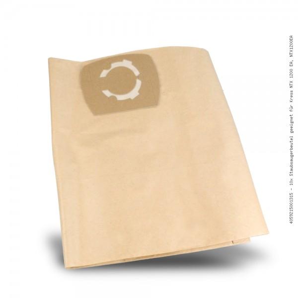 Staubsaugerbeutel geeignet für Kress NTX 1200 EA, NTX1200EA Bild: 1
