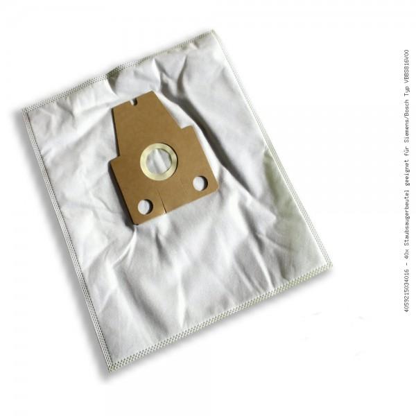 Staubsaugerbeutel geeignet für Siemens/Bosch Typ VBBS816V00 Bild: 1