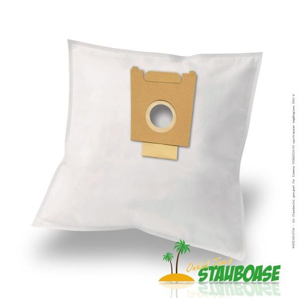 Staubsaugerbeutel 10 x Staubbeutel geeignet für Siemens VS06G2510/03 synchropower bag&bagless 2500 W Bild: 1