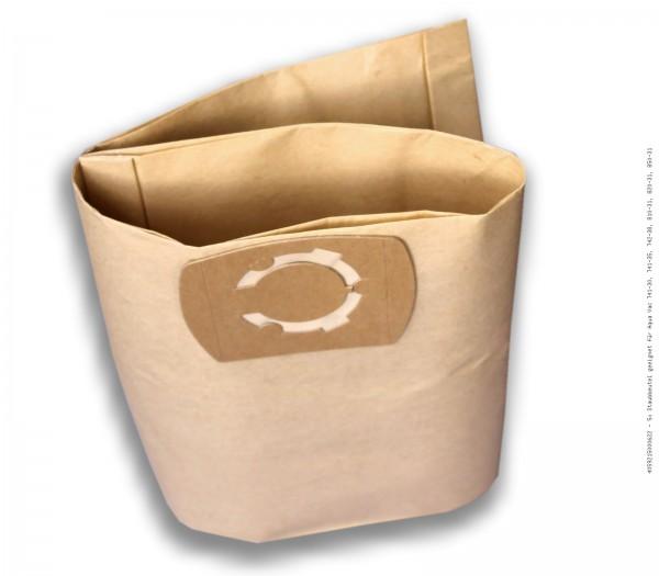 Staubsaugerbeutel 5x Staubbeutel geeignet für Aqua Vac 741-30, 741-35, 742-38, 810-31, 820-31, 850-31 Bild: 1