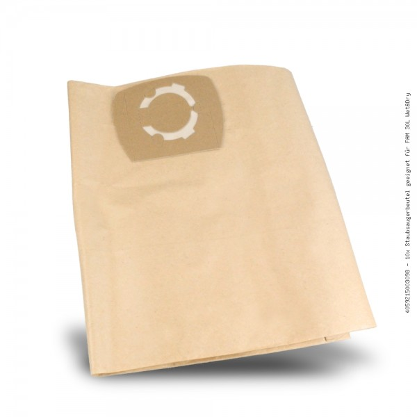 Staubsaugerbeutel geeignet für FAM 30L Wet&Dry Bild: 1