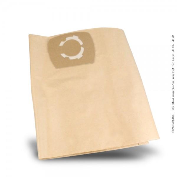 Staubsaugerbeutel geeignet für Lavor GB-18, GB-22 Bild: 1