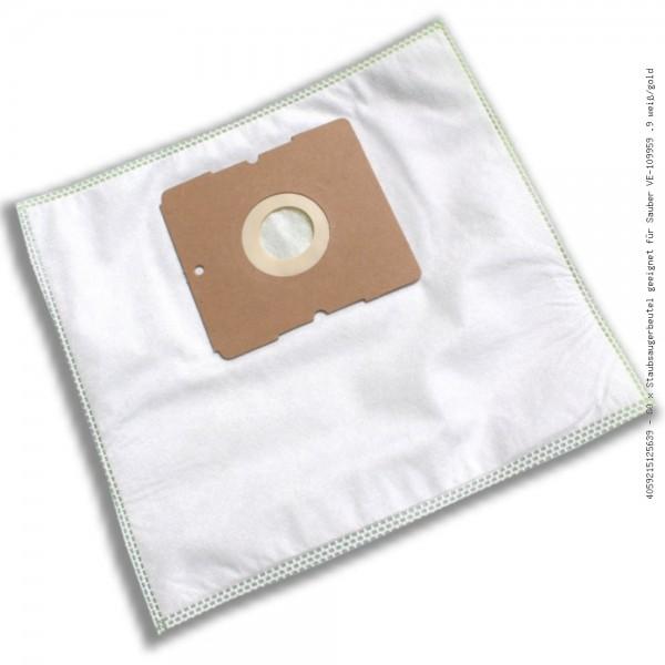 Staubsaugerbeutel geeignet für Sauber VE-109959 .9 weiß/gold Bild: 1