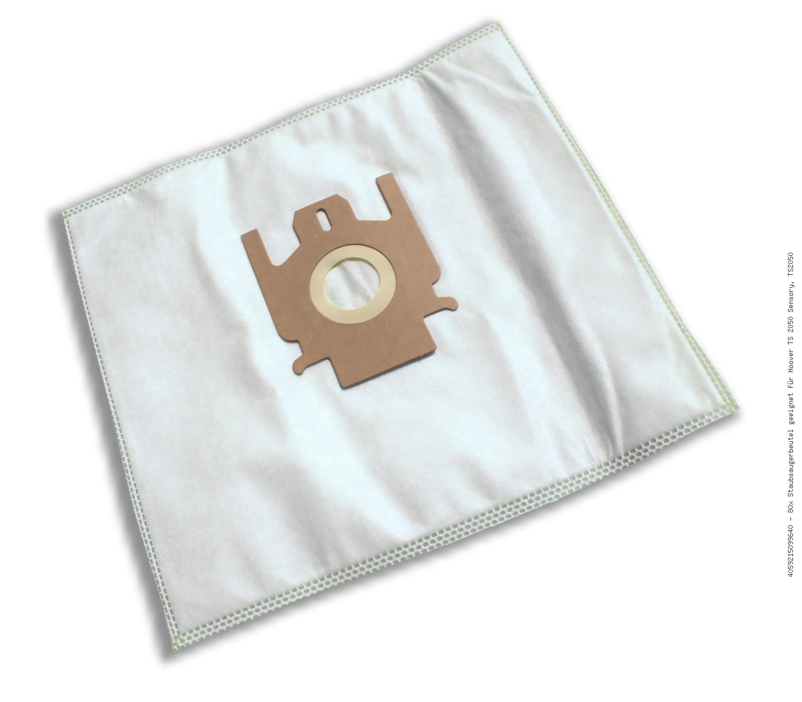 2009 40 Staubsaugerbeutel geeignet für Hoover Sensory TS 2008 2010