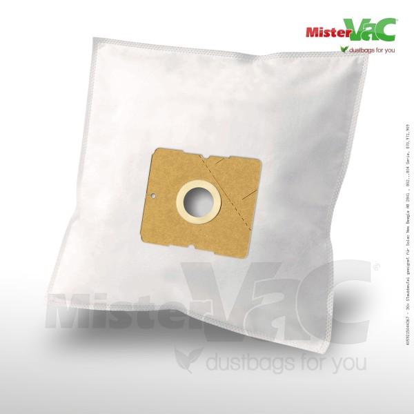 Staubsaugerbeutel 30 x Staubbeutel geeignet für Solac New Beagle AB 2841 , 802...804 Serie, 870,971,909 Bild: 1
