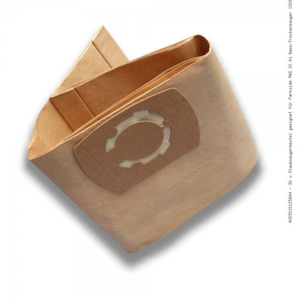 Staubsaugerbeutel geeignet für Parkside PWS 20 A1 Nass-Trockensauger 1300 W Bild: 1
