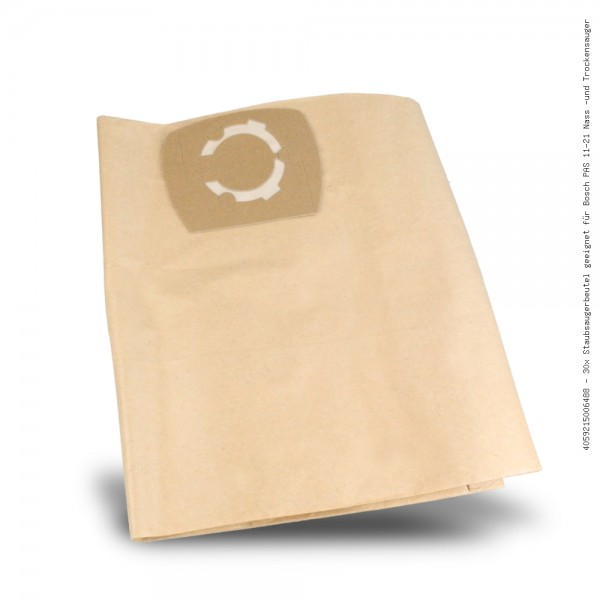 Staubsaugerbeutel geeignet für Bosch PAS 11-21 Nass -und Trockensauger Bild: 1