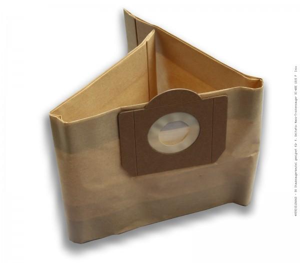 Staubsaugerbeutel geeignet für f. Deltafox Nass-Trockensauger DC-WDE 1315 P Inox Bild: 1