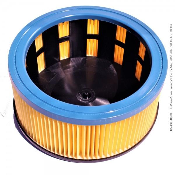 Filterpatrone geeignet für Metabo 602013000 ASA 32 L , ASA32L